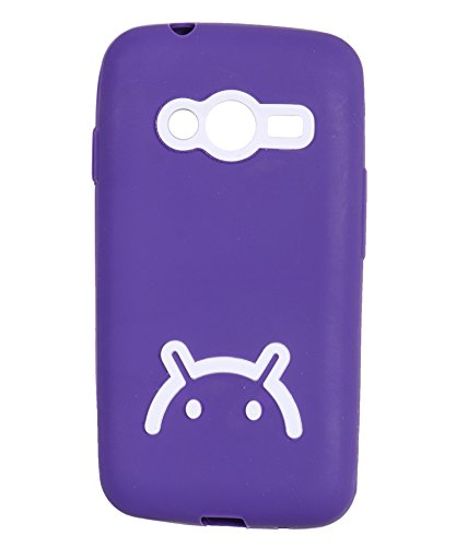 iCandy Soft TPU Back Cover For Samsung Galaxy S Duos 3 - Purple  available at amazon for Rs.115