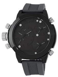 CEPHEUS Herren-Armbanduhr XL Analog Quarz Silikon CP902-620A