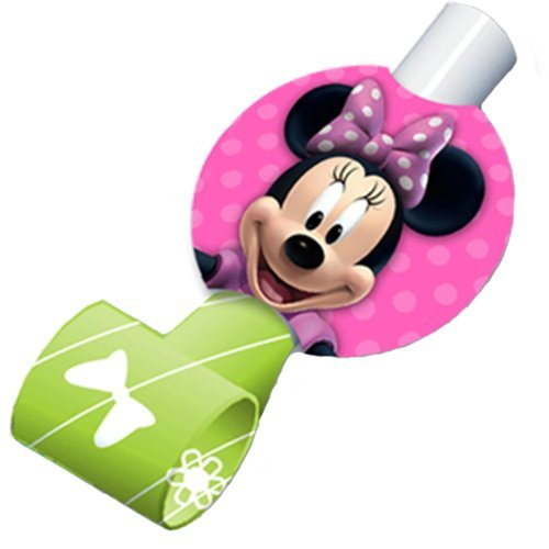 Minnie Mouse Party Favors - Minnie Blowouts - 8 Count