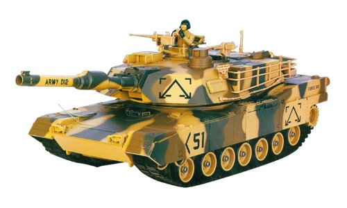 M1A2 Abrams USA Battle Tank RC 16