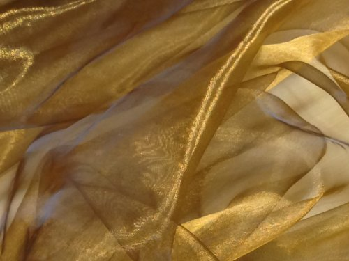 two-tone-old-gold-clr1-voile-draping-sashes-wedding-stage-decorations-fabric-by-the-metre-150cm-wide