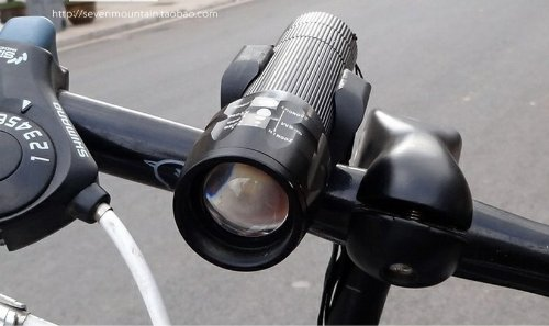 Loveshop CREE Q5 Flashlight Used for Bicycle Headlights and Outdoor Sports - Super Bright!