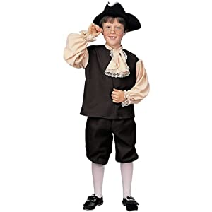 Colonial Boy Costume - Small - Kid's Costumes