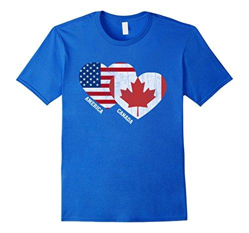 mens-canada-flag-t-shirt-canadian-american-flag-tee-shirt-xl-royal-blue