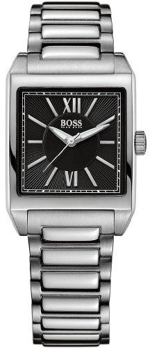 Hugo Boss  0 - Reloj de cuarzo para mujer, con correa de acero inoxidable, color plateado