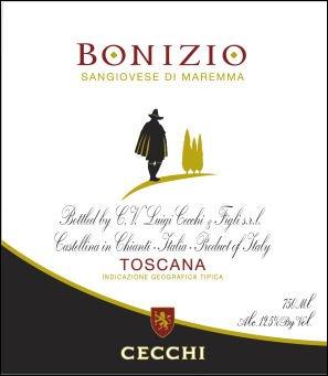 Cecchi Toscana Bonizio 2010 750Ml