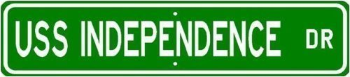 USS INDEPENDENCE LCS 2 Street Sign - 22