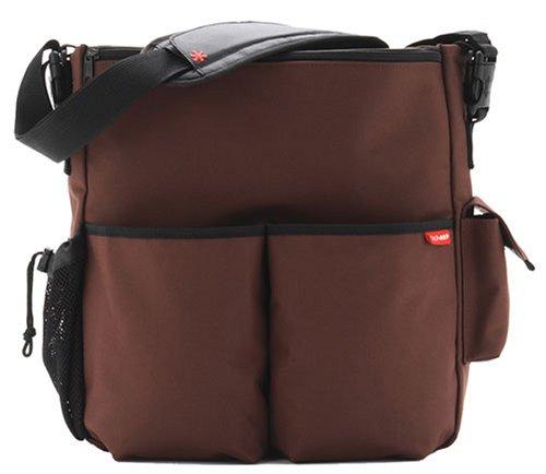 Imagen 1 de Skip Hop Duo - Bolso para pañales y cambiador, color marrón