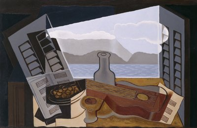 Juan Gris Open Window Wooden Jigsaw Puzzle