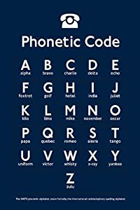 Luscious image within phonetic alphabet printable