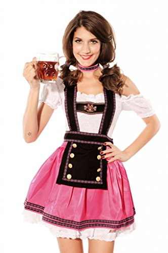 Dear-lover Women's Sexy Beer Babe Costume
