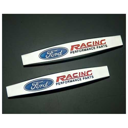2pcs B322 Car Styling Accessories Chromed Emblem Badge Decal Fender Side Sticker Metal FORD RACING Focus 2 Focus 3 FIESTA F-150 Kuga FUSION ESCAPE EDGE (Ford F150 Side Emblems compare prices)