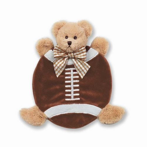 Bearington Baby Collection Wee Touchdown Football Snuggler Security Blanket