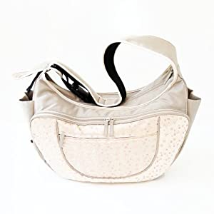 Baby Hobo Couture Diaper Bag and Nursing Pillow in One - Choose from 6 Fashionable Colors (Vanilla Chai) from WarmMilk