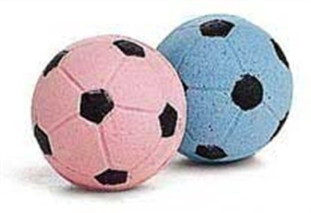 Picture Ethical Sponge Soccer Balls Cat Toy, 4-pack X 2 (8 Balls)