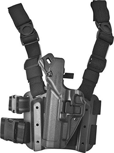 BLACKHAWK! SERPA Level 3 Tactical Holster Left Hand, Black (Springfield XD/XDM BK)