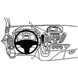 Brodit ProClip für Ford Transit Custom 13 schwarz