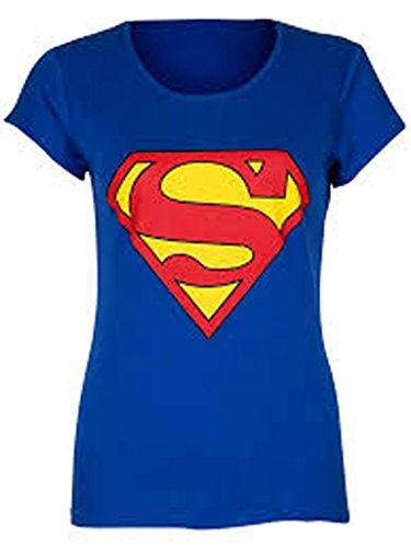 Classic Superman / Supergirl T-shirt for Ladies