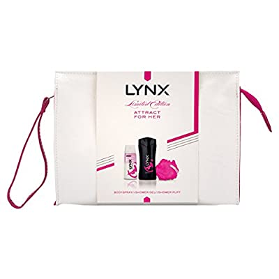 Lynx Attract Wash bag Gift Set for Women