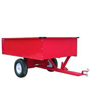 Remorque 500 kg en métal pour tracteur + Benne basculante ...