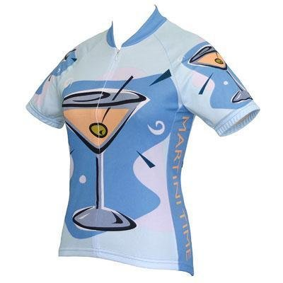Image of World Jersey's Women's Martini Time Short Sleeve Cycling Jersey (B002TSMP0E)