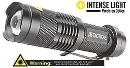 J5 Tactical Flashlight - Original Ultra Bright LED 3 Mode Mini Flashlight