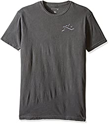Rusty Men's Stax Short Sleeve T-Shirt, Storm, Small