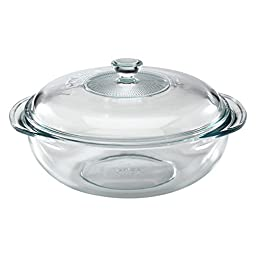 Pyrex Bakeware 2-Quart Casserole Dish with Lid (Set of 3)