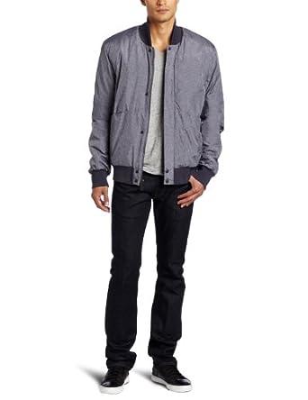 (1.8折)李维斯Levi's Men's Nylon Bomber Jacket男士休闲夹克$26.30