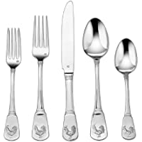 2-Pack 20-Piece Cuisinart Elite Flatware Set (French Rooster)
