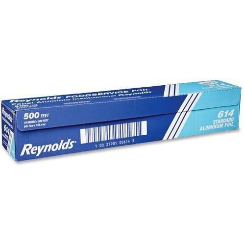 614-reynolds-food-packaging-standard-foil-18-width-x-500-ft-length-moisture-proof-odorless-grease-pr