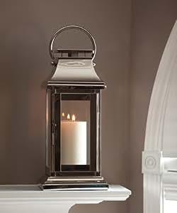 Nickel Square Lantern