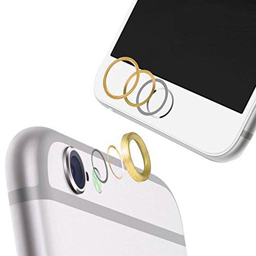 iPhone6plus/6splus レンズ保護リング&ホームボタン保護リン...