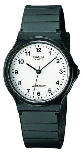 Casio MQ-24-7BLLGF - Reloj de pulsera hombre, resina, color negro