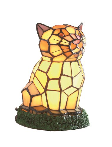 loxton-illuminazione-19-centimetri-tiffany-gatto-lampada-da-tavolo-multi-colore