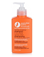 Australian Native Botanicals Hair Care Volumising, Strengthening Shampoo for Fine or Limp Hair 250ml