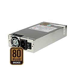 Dynapower SS-1U60EL 1U 600W Active PFC EPS 12V Short Depth 80Plus Bronze Certified Server Power Supply