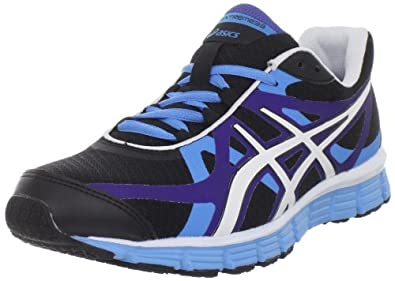 ASICS Women's Gel-Extreme33 Running Shoe,Black/White/Ultraviolet,6 M US