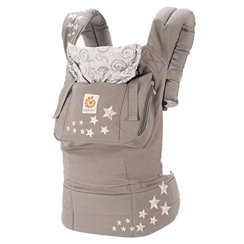 Ergobaby Babytrage Kollektion Original (5,5 - 20 kg), Galaxy Grey