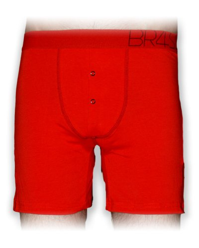 BR4SS Cherry Cherry Fitted Boxer Cherry X Large