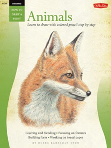 Animals in Colored Pencil / Drawing: Learn to Draw Step by Step (How to Draw and Paint)