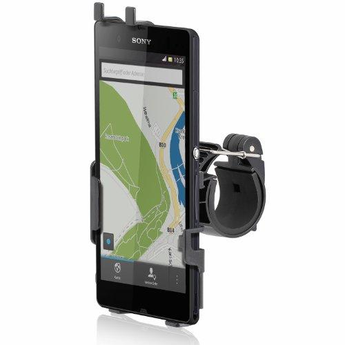 Wicked Chili Fahrradhalterung / Motorradhalterung für Sony Xperia Z (Hochformat und Querformat)