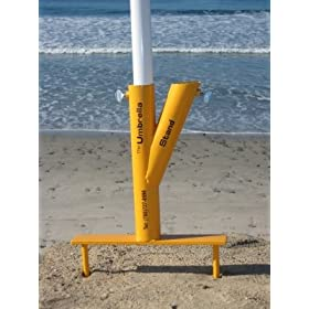 Beach Umbrella Sand Screw by Giorgio
