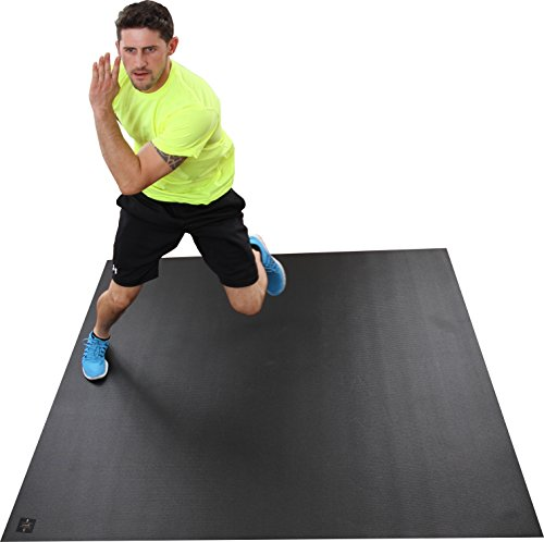 """Fitness Mat Home Bargains: Large Exercise Mat 72"""" Wide X 72"""" Long (6'x6') X 6mm Thick"""