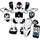 WowWee Robosapien X - Robosapien X - Download Free iOS Or Android App For More Fun - Path Tracking - 14 Inches Tall - Full Function Arms with Two Types Grippers - Fast Real Speed - Walking - Running - Turning - Developed by NASA Scientist - 8006