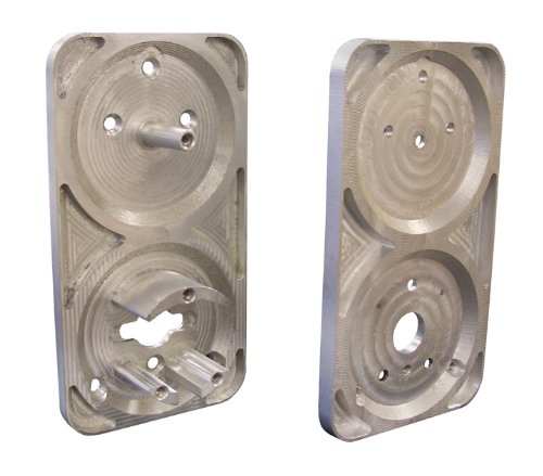Morning Industry Mp-300Plt Metal Security Gate Adapter Plate For Mp-300, Aluminium front-742715