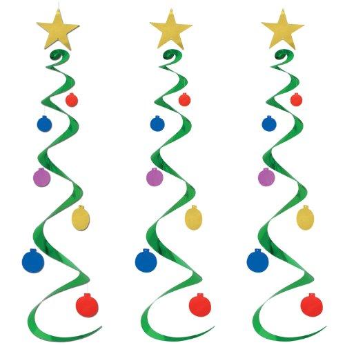 Christmas Tree Whirls   (3/Pkg)