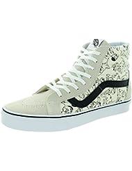 Vans Unisex Sk8-Hi Reissue (Disney) Skate Shoe Dalmatians White 10 D(M) US