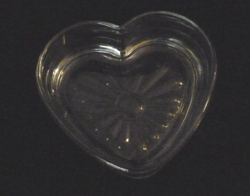 Decorative Glass Heart Dish