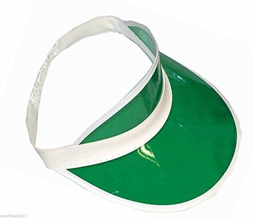 Unisex Sun Visor Poker Hat Golf Neon